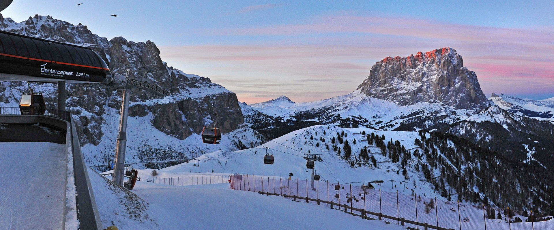 Winter vacation in Val Gardena